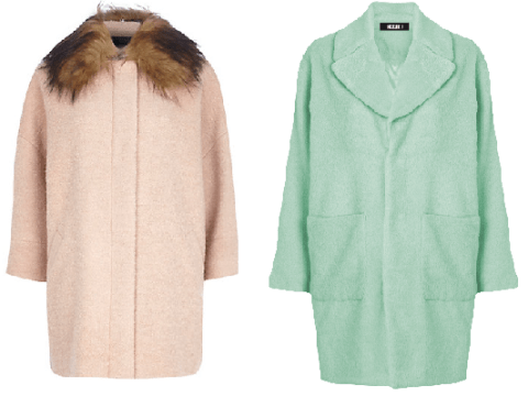 12 ridiculously pretty pastel winter coats to buy for AW14