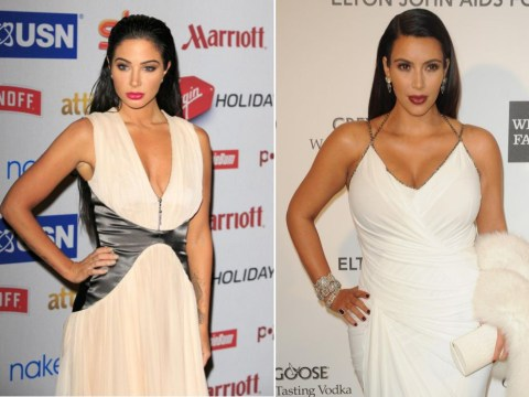 Glammed-up Tulisa Contostavlos looked a little familiar at the Attitude Awards