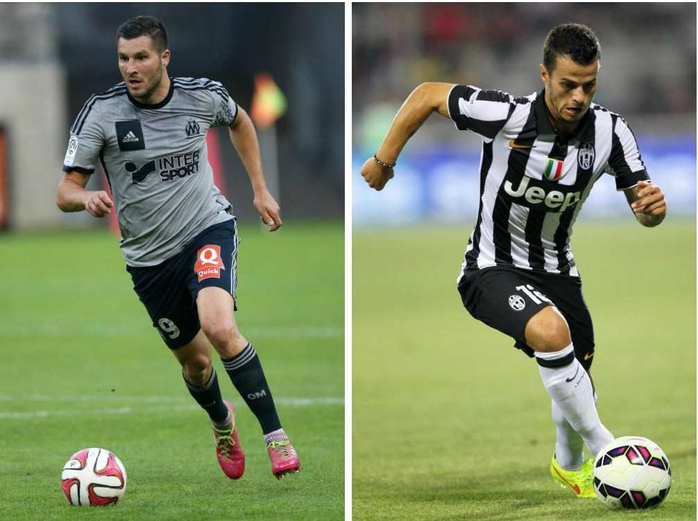 Arsenal 'in double striker swoop after opening talks for Marseille's Andre-Pierre Gignac and Juventus' Sebastian Giovinco'
