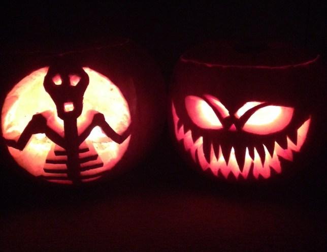 16 amazing pumpkin carving ideas for halloween 2014 metro news