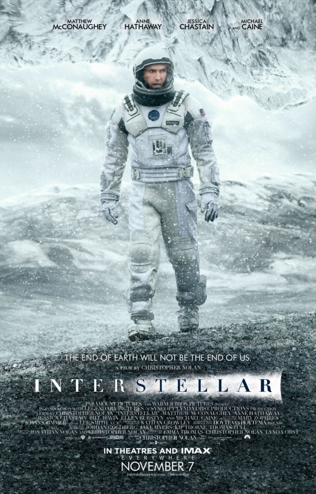 Interstellar Main One Sheet