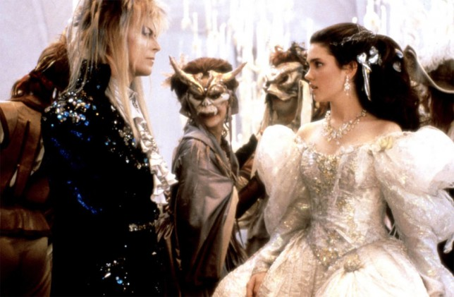 David Bowie and Jennifer Connelly in Labyrinth (Picture: TriStar)