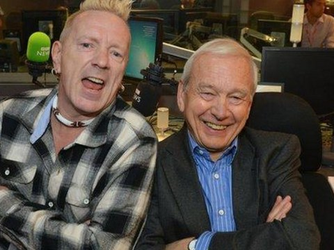 Sex Pistols' Johnny Rotten just called John Humphrys a 'silly sausage' and you all went ballistic