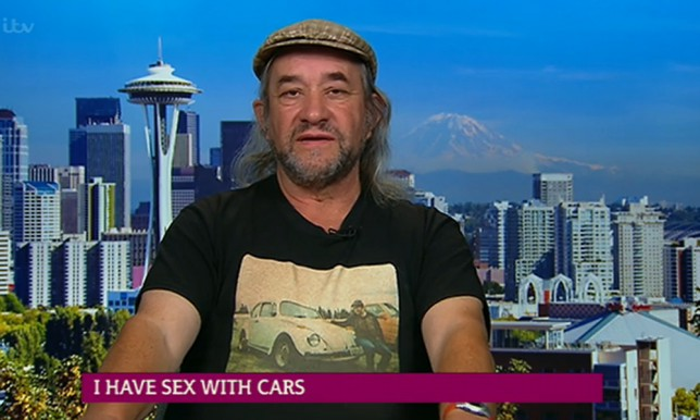 Edward Smith sex with cars This Morning