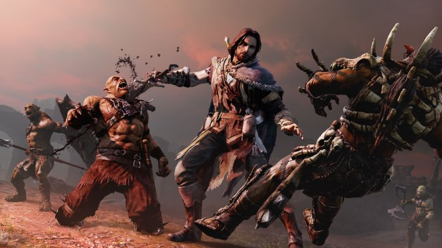 Middle-Earth: Shadow Of Mordor (PS4) - these two won't be becoming a nemesis anytime soon