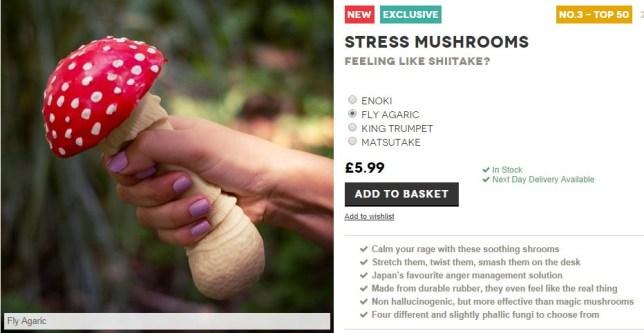 'I'm just an innocent mushroom, honest' (Picture: Firebox.com)
