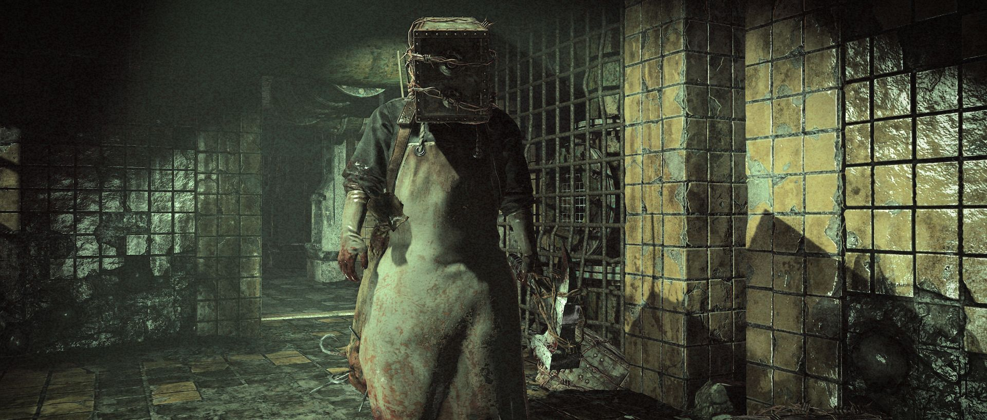 The Evil Within (PS4) - this is the actual aspect ratio the game's played at