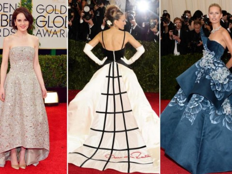 The most iconic Oscar de la Renta dresses worn by Hollywood's A-list, from Rihanna to SJP