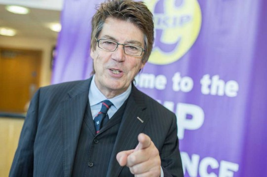 Conservative-turned-UKIP supporter Mike Read initially defended the song as 'political satire' (Picture: Getty Images)