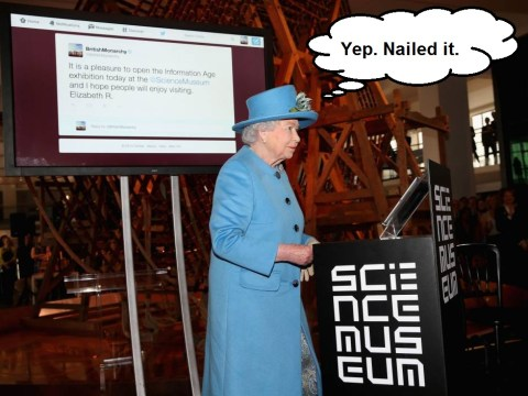 Today the Queen sent her first tweet – here's how it all went down