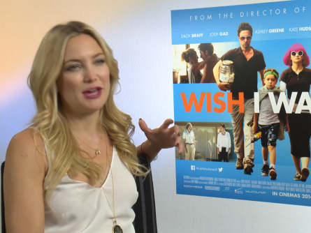 EXCLUSIVE: Kate Hudson talks Kickstarter funded movie role in Wish I Was Here vs big Hollywood blockbusters