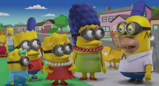 The Simpsons turn into Despicable Me minions (among other things) for new Halloween special