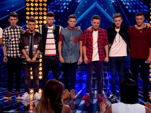 The X Factor 2014 live shows: Cheryl Cole admits she'd axe FOUR members of Stereo Kicks