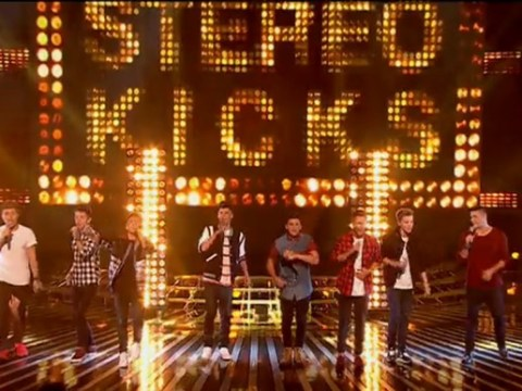 The X Factor 2014: And the name of the eight-piece boy band is…Stereo Kicks!
