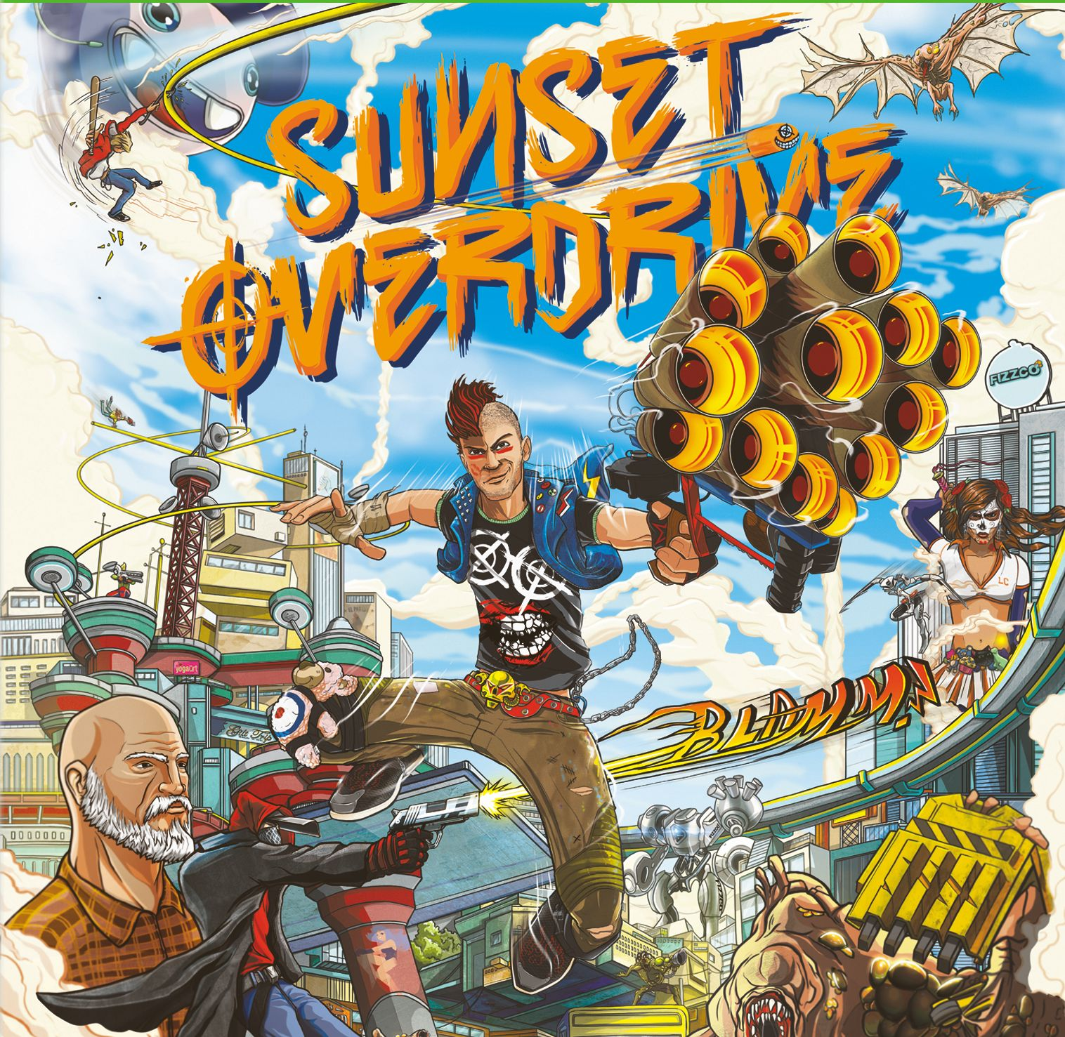 Sunset Overdrive on Xbox One: Everything you need to know about the game