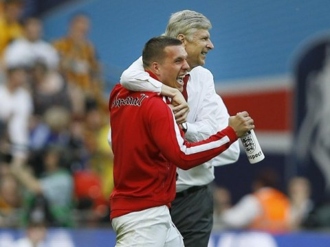 Lukas Podolski is NOT for sale, confirms Arsenal boss Arsene Wenger