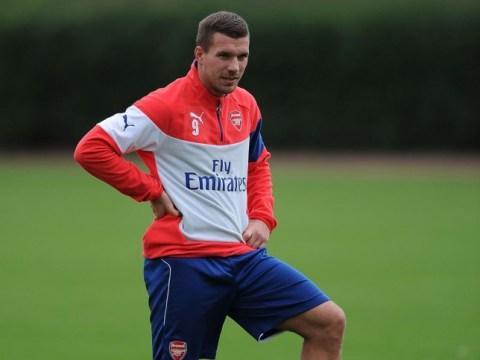 Lukas Podolski looking to leave Arsenal in January transfer window