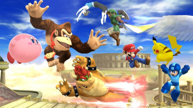 Super Smash Bros. For Wii U (Wii U) - all of Nintendo in one game