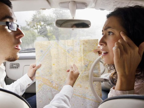 Men are better than women at reading maps and sex is why