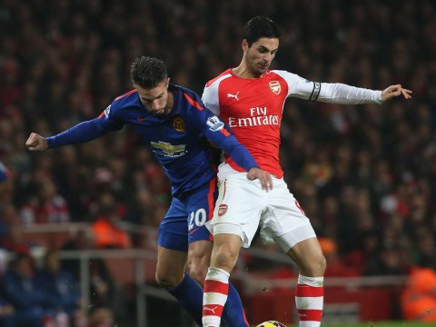 Scathing Louis van Gaal slams Robin van Persie after Manchester United striker manages just 13 touches against Arsenal