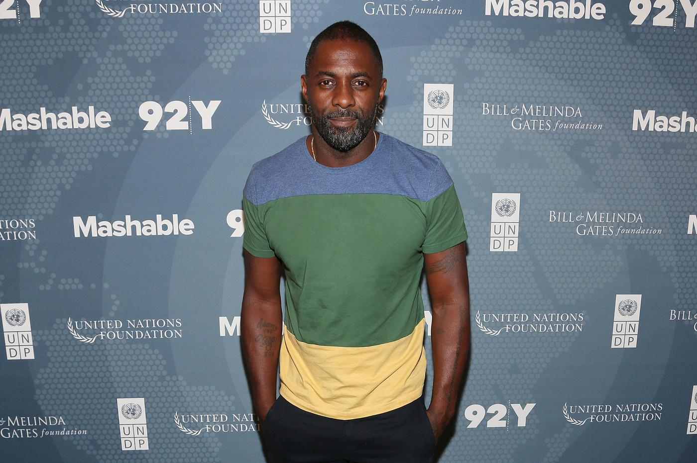 Idris Elba has been linked to the part of Apocalypse in X-Men: Apocalypse, which is a bit iffy