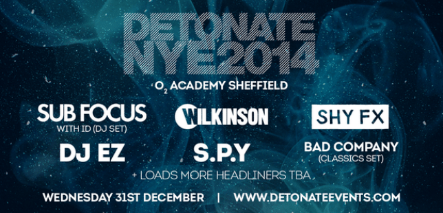Detonate New Year's Eve 2014 party line up