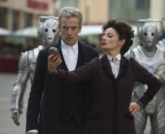 Doctor Who series 8: The Doctor and Missy aka The Master