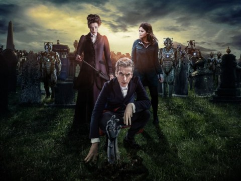 Doctor Who series 8: Death in Heaven pictures tease grave-bursting Cyberman and Missy vs Doctor showdown