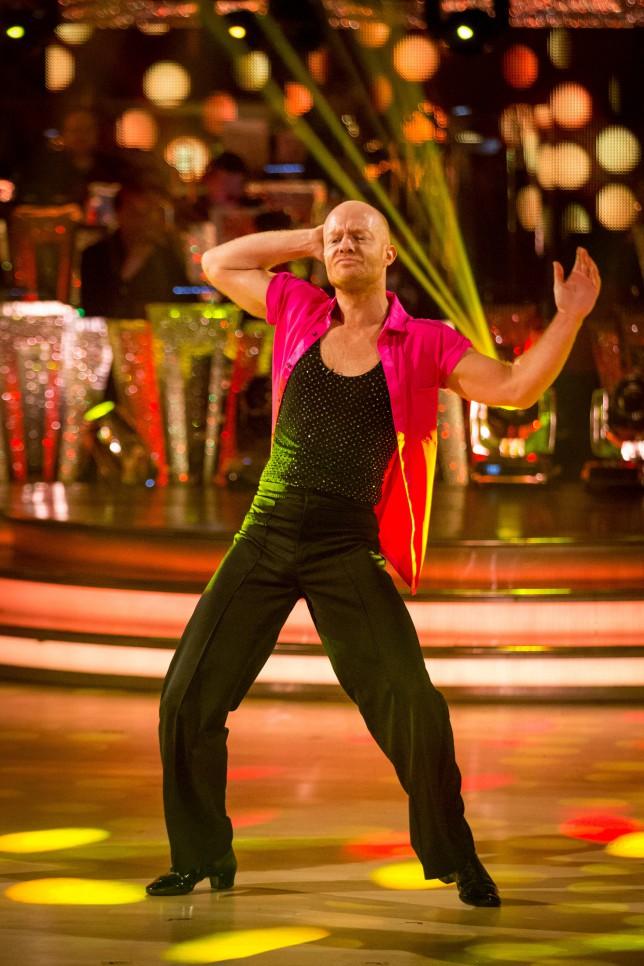 Strictly Come Dancing 2014: Jake Wood twerks