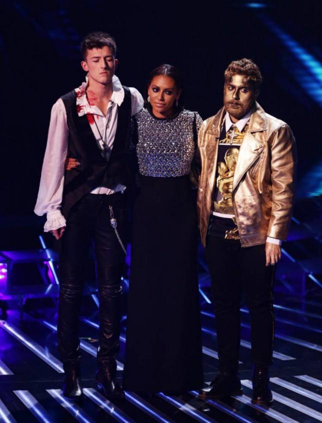 Mel B, Andrea Faustini, Jack Walton, X Factor, X Factor results, X Factor 2014