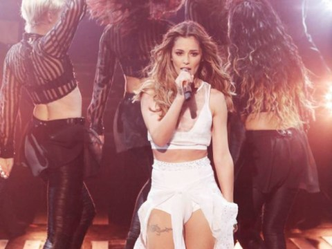 The X Factor 2014 results show: Did Cheryl Cole have 'nip slip' during I Don't Care?