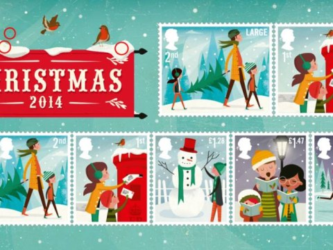 Christmas 2014 stamps unveiled