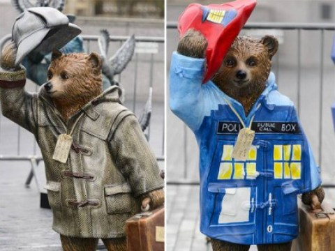 Paddington Bears designed by Peter Capaldi and Benedict Cumberbatch take over London
