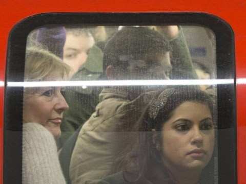 Travelling on the underground is the most stressful part of living in London