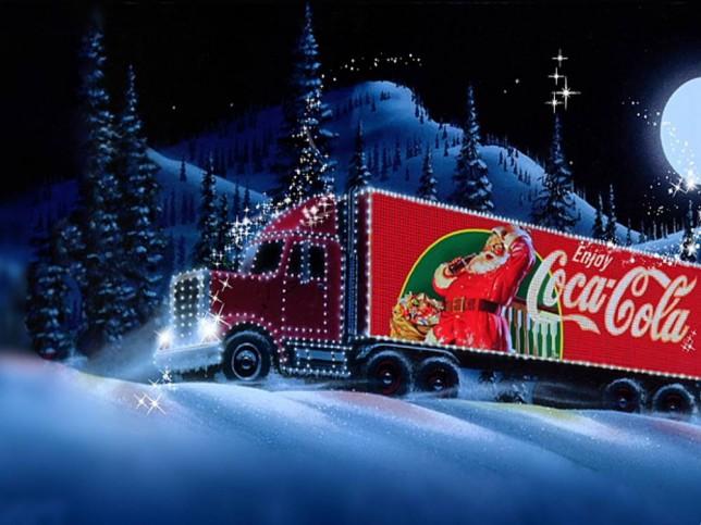 Coke Christmas Ads.Coca Cola Ad Tops List Of Signs Christmas Is Finally Coming
