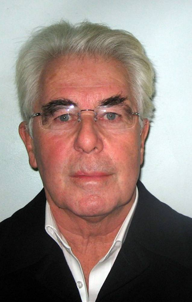 Max Clifford's eight-year jail...