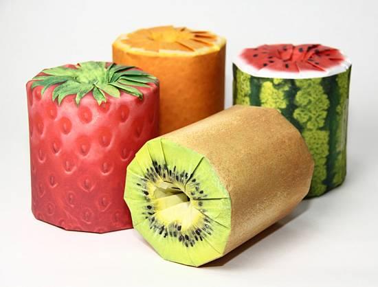 Latona Marketing fruit covered toilet roll