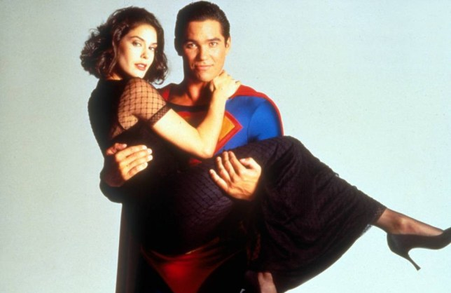 No Merchandising. Editorial Use Only. No Book Cover Usage... Mandatory Credit: Photo by Moviestore Collection/REX (1593650a).. Lois And Clark: The New Adventures Of Superman ,  Teri Hatcher,  Dean Cain.. Film and Television.. ..