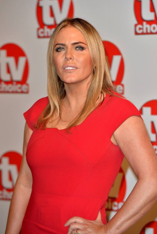 LONDON, ENGLAND - SEPTEMBER 08:  Patsy Kensit attends the TV Choice Awards 2014 at London Hilton on September 8, 2014 in London, England.  (Photo by Anthony Harvey/Getty Images)