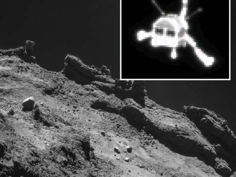 Spacecraft lands safely on comet for first time ever