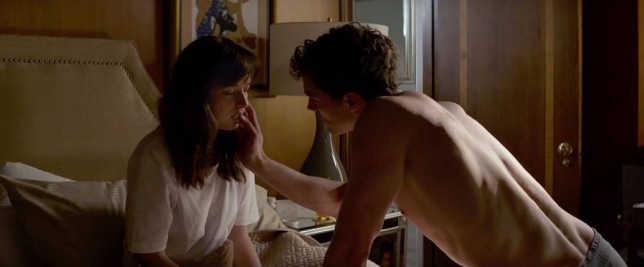 Fifty Shades Of Grey set to steam up the screen with more than 20 minutes worth of sex scenes