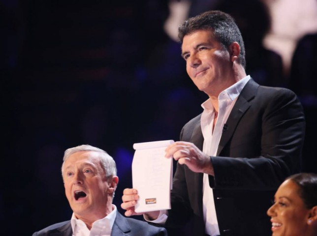 Simon Cowell, Louis Walsh, The X Factor, X Factor 2014
