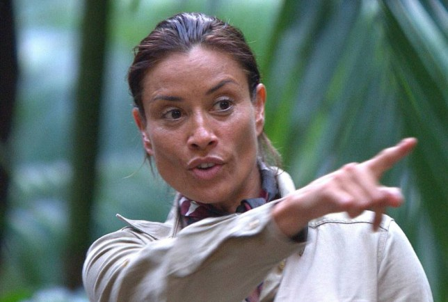 ***EMBARGO NOT TO BE USED BEFORE 21:00, 16 Nov 2014 - EDITORIAL USE ONLY - NO MERCHANDISING***  Mandatory Credit: Photo by REX (4244663et)  Melanie Sykes  'I'm A Celebrity...Get Me Out Of Here!' TV Programme, Australia - 16 Nov 2014