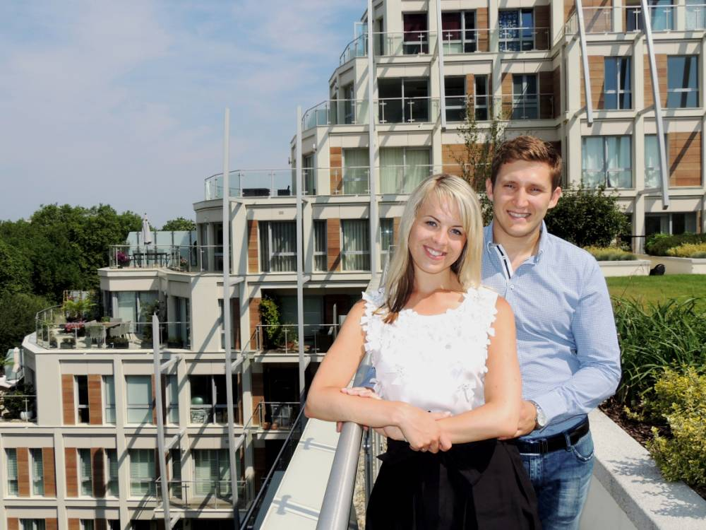 Buyer's story: Home for honeymoon
