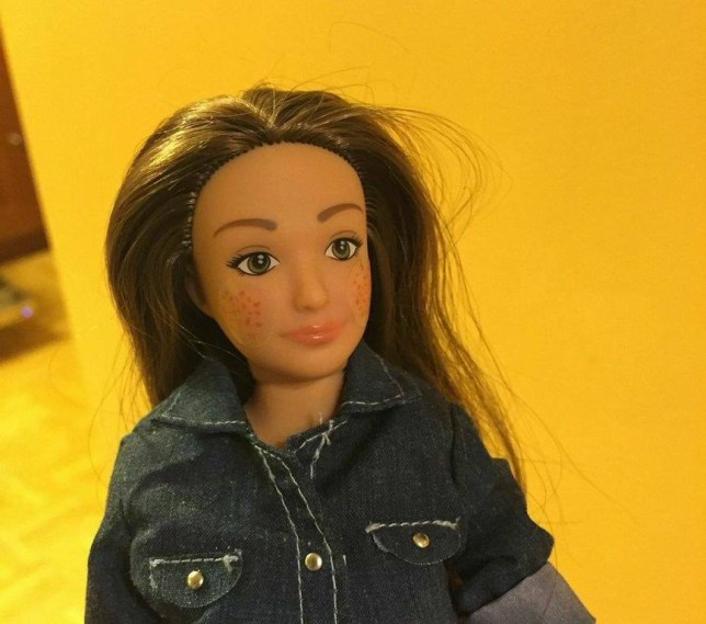 "Frustrated with the unrealistic beauty standards perpetuated by Barbie and her ilk, artist Nickolay Lamm set out to create a doll that has proportions more representative of the average woman. To do so, Lamm took data from the CDC about the ""average"" 19-year-old woman, who is about 5 foot 4, with a 33-inch waist, and created a doll that mirrored those proportions. Her name is Lammily, and her tagline is ""Average is beautiful.""  ""I think a realistic sized doll is important because, when I look at current dolls on the market, I can't help but notice how disproportionate they are,"" said Lamm in an email to Salon. ""By making a doll real I feel attention is taken away from the body and to what the doll actually does.""  To really drive home his point, here's a video Lamm made of Lammily being airbrushed into Barbie:"