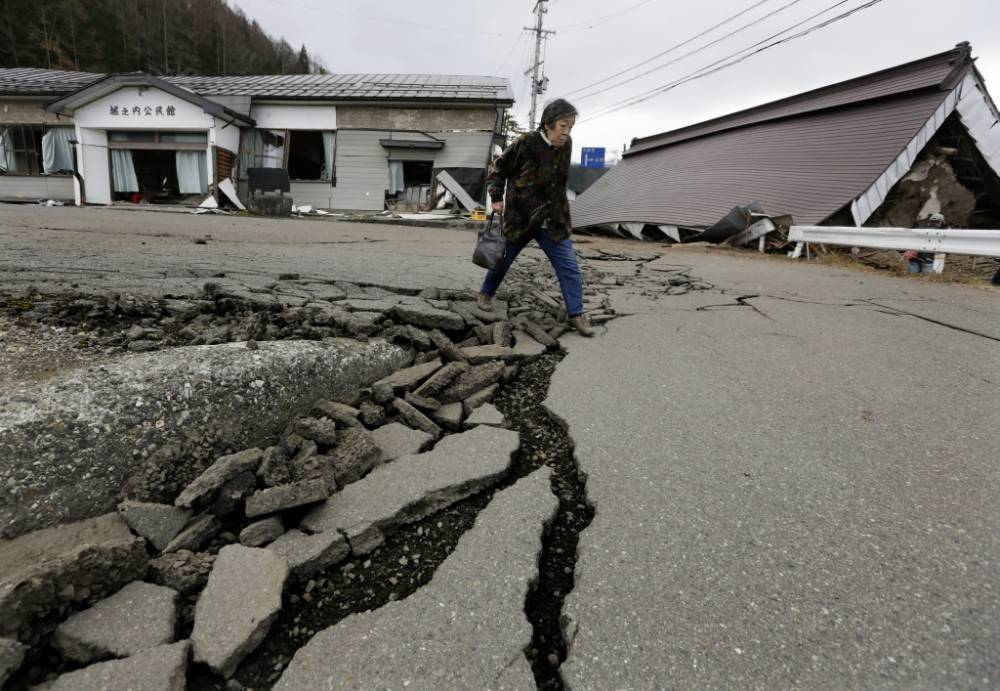 Japanese city suffers extensive damage following 6.7 magnitude earthquake