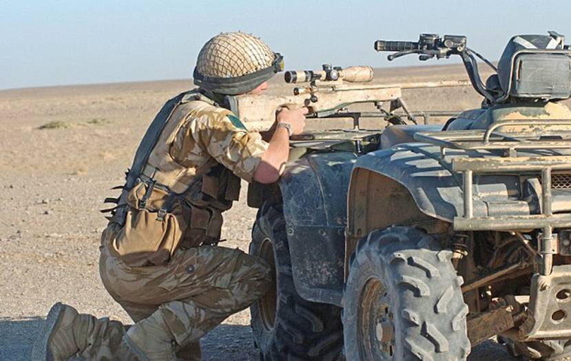 SAS on quad bikes are 'killing up to eight Jihadis a day' in Iraq