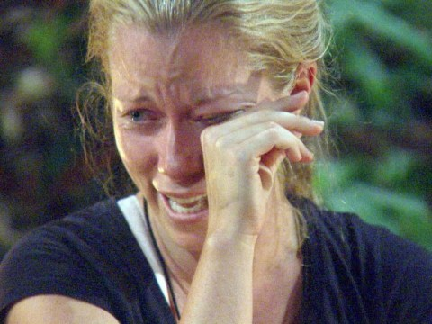 I'm A Celebrity 2014: Kendra Wilkinson bursts into tears over picture of her kids