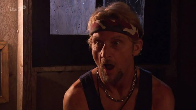 Jimmy Bullard and Carl Fogarty take on the 'Shed of Dread' on 'I'm A Celebrity...
