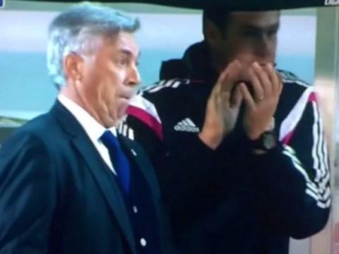 Carlo Ancelotti mocks Cristiano Ronaldo's goal celebration in Real Madrid's win over Eibar